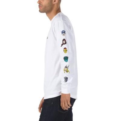VANS X 마블 긴팔 티셔츠