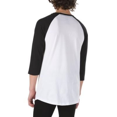 VANS X 마블 래글런 티셔츠