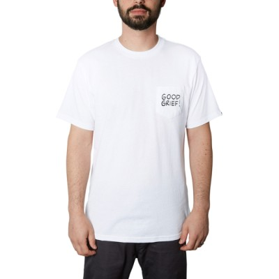 더 피너츠 굳 그리프 포켓 티셔츠