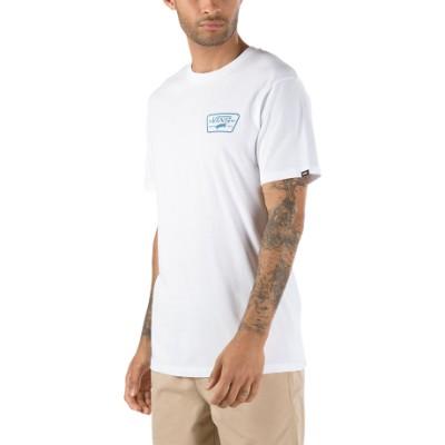 풀 패치 백 반팔 티셔츠