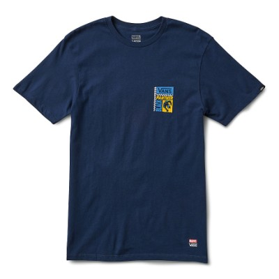 VANS X 마블 반팔 티셔츠