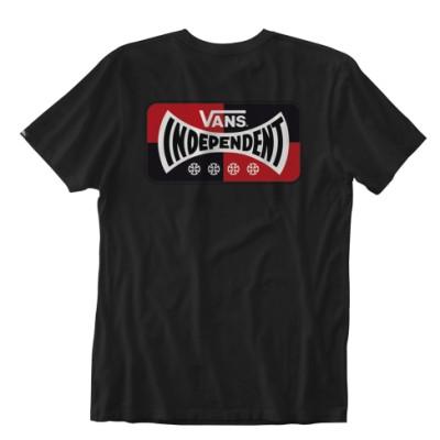 VANS X 인디펜던트 로고 반팔 티셔츠