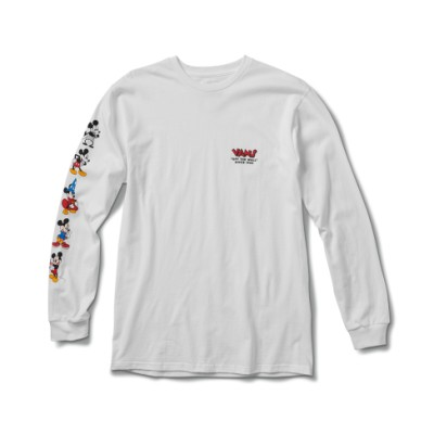 Vans x 디즈니 미키 2ND 쓰루 디 에이지 긴팔 티셔츠