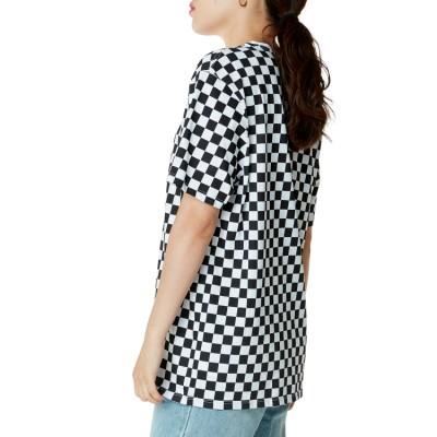 레트로 체크 올 체커 온 반팔 티셔츠