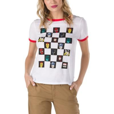 온라인 단독) VANS X 마블 반팔 티셔츠