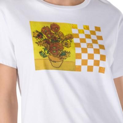 한정판) 반 고흐 선플라워 보이프렌드 티셔츠
