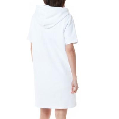 패로틱 후드 드레스