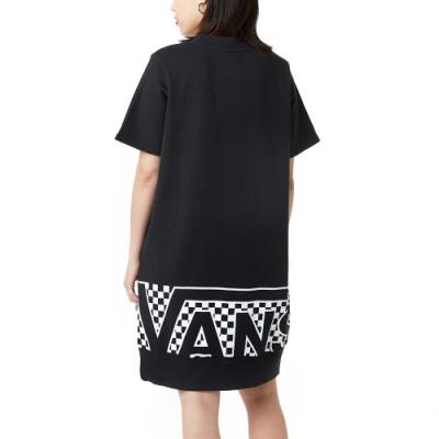 인베이시브 반팔 플리스 드레스