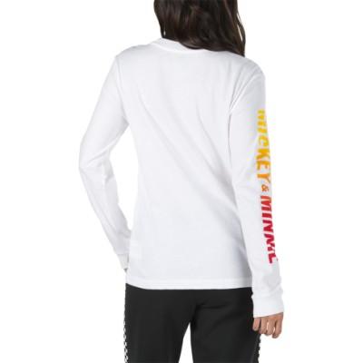 VANS X 디즈니 미키 펑크 긴팔 티셔츠