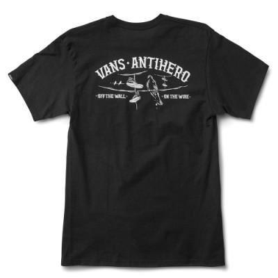 VANS X 안티히어로 온 더 와이어 반팔 티셔츠