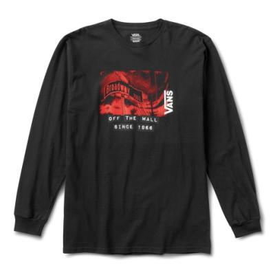 VANS X 베이커 긴팔 티셔츠