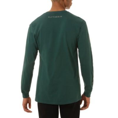 VANS X 해리 포터 슬리데린 긴팔 티셔츠