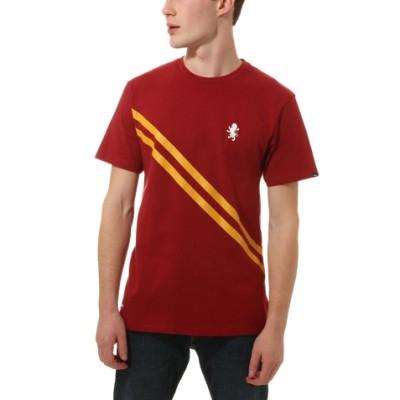 VANS X 해리 포터 그리핀도르 반팔 티셔츠