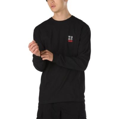 VANS X 레드 제플린 긴팔 티셔츠