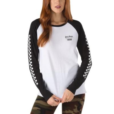 VANS X 해리 포터 호그와트 래글런 티셔츠