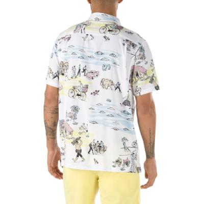 VANS X KIDE 캠프 반팔 셔츠