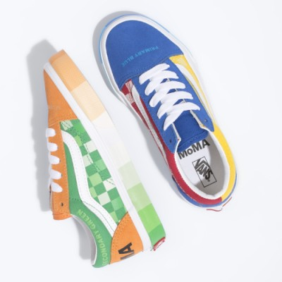 키즈 Vans & MoMA Old Skool 올드스쿨