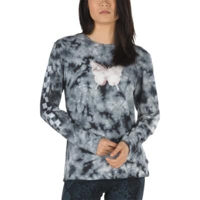 VANS X 샌디 리앙 보이프랜드 긴팔 티셔츠