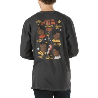 Vans X 마이클 페뷰어리 긴팔 티셔츠
