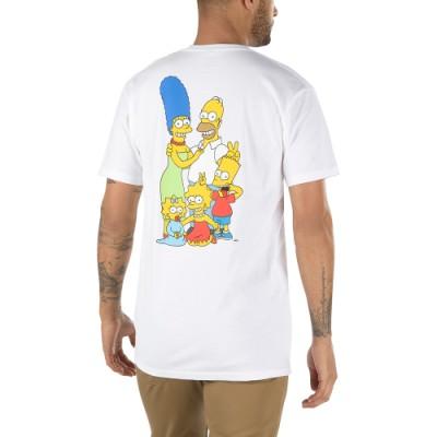Vans X 더 심슨 패밀리 반팔 티셔츠