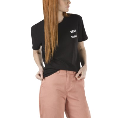 Vans & MoMA 보이프랜드 티셔츠