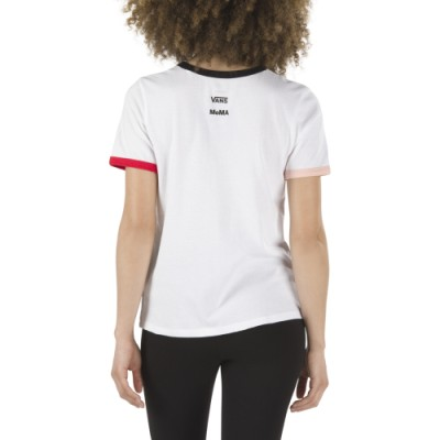 Vans & MoMA 포포바 반팔 티셔츠