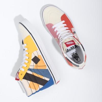 Vans & MoMA SK8-Hi 스케이트-하이