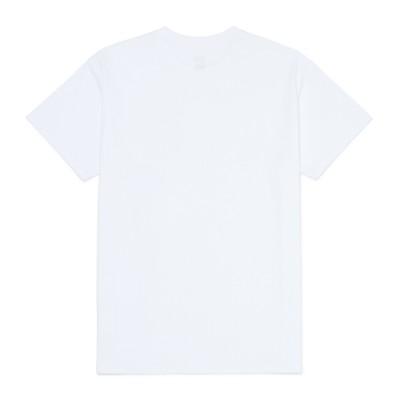 체커 링 포켓 반팔 티셔츠
