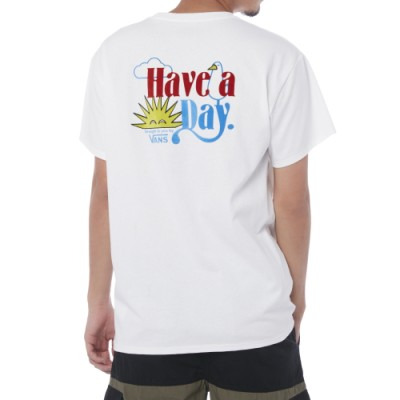 나이스 모닝 반팔 티셔츠