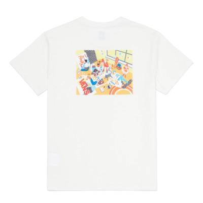 2021 OTW 아트 컬렉션 TIAN RAN W 반팔 티셔츠