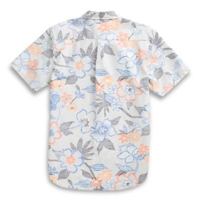 VANS X TUDOR LID 우븐 반팔 티셔츠