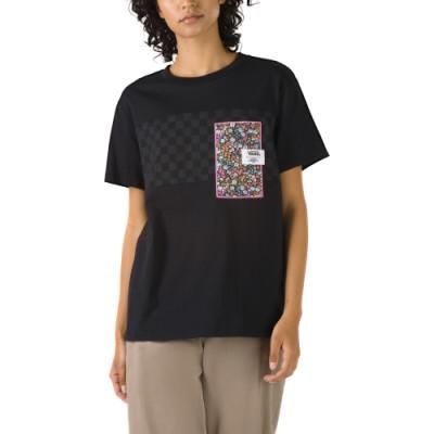 VANS X LIBERTY 반팔 티셔츠