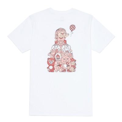 2021 OTW 아트 컬렉션 MOONCASKET W 반팔 티셔츠 B
