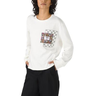 VANS X LIBERTY 긴팔 티셔츠